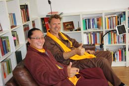 Sangngak Tenzin Rinpoche bei Hinnerk Polenski
